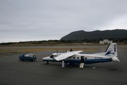 島国旅人さんが、新島空港で撮影した新中央航空 228-212の航空フォト(飛行機 写真・画像)
