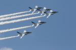 元青森人さんが、松島基地で撮影した航空自衛隊 T-4の航空フォト(写真)