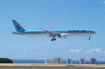 たーしょ@0525さんが、アントニオ・B・ウォン・パット国際空港で撮影した大韓航空 777-3B5/ERの航空フォト(写真)