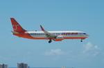 たーしょ@0525さんが、アントニオ・B・ウォン・パット国際空港で撮影したチェジュ航空 737-8ALの航空フォト(写真)