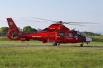 meskinさんが、山形空港で撮影した宮城県防災航空隊 AS365N3 Dauphin 2の航空フォト(写真)