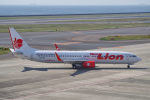 yabyanさんが、中部国際空港で撮影したタイ・ライオン・エア 737-9GP/ERの航空フォト(飛行機 写真・画像)
