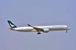 Hiro Satoさんが、スワンナプーム国際空港で撮影したキャセイパシフィック航空 A350-1041の航空フォト(写真)