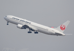 Dreamer-K'さんが、羽田空港で撮影した日本航空 767-346/ERの航空フォト(飛行機 写真・画像)