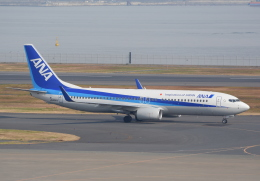 Dreamer-K'さんが、羽田空港で撮影した全日空 737-881の航空フォト(飛行機 写真・画像)