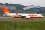 MOR1(新アカウント)さんが、福岡空港で撮影したチェジュ航空 737-8ASの航空フォト(写真)