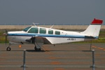 MOR1(新アカウント)さんが、北九州空港で撮影した日本法人所有 A36 Bonanza 36の航空フォト(写真)