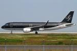 MOR1(新アカウント)さんが、北九州空港で撮影したスターフライヤー A320-214の航空フォト(写真)