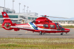 MOR1(新アカウント)さんが、北九州空港で撮影した北九州市消防航空隊 AS365N3 Dauphin 2の航空フォト(写真)