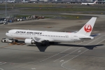HEATHROWさんが、羽田空港で撮影した日本航空 767-346/ERの航空フォト(写真)