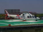 bannigsさんが、新潟空港で撮影した静岡エアコミュータ AW109SP GrandNewの航空フォト(写真)
