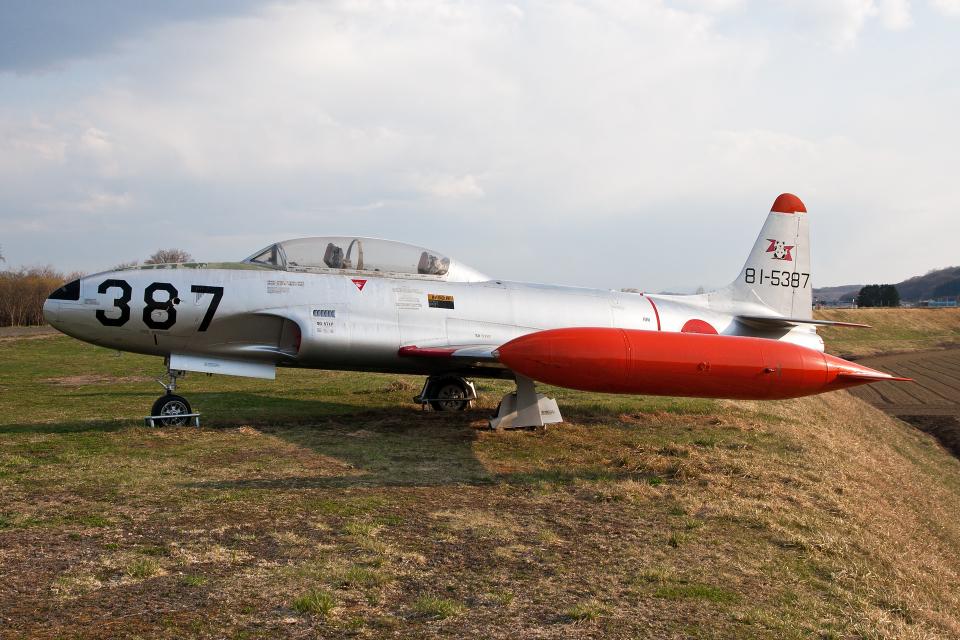 Echo-Kiloさんの航空自衛隊 Kawasaki T-33 (81-5387) 航空フォト