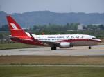 とびたさんが、富山空港で撮影した上海航空 737-76Dの航空フォト(写真)
