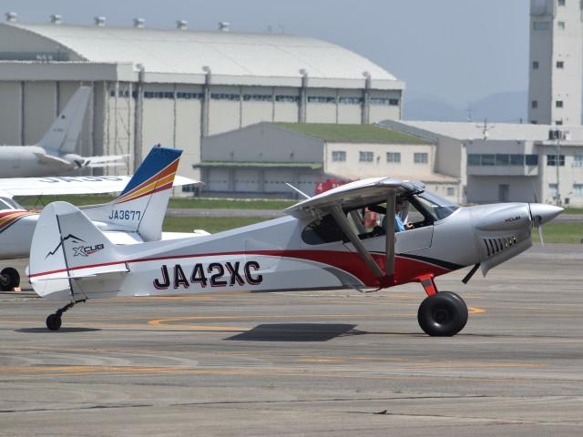 とびたさんが、名古屋飛行場で撮影したニセコ・アビエーション CC19-180 XCubの航空フォト(飛行機 写真・画像)