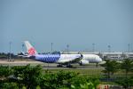 アカゆこさんが、台湾桃園国際空港で撮影したチャイナエアライン A350-941XWBの航空フォト(写真)