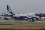 リンリンさんが、成田国際空港で撮影した日本貨物航空 747-8KZF/SCDの航空フォト(写真)