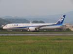 えすぷりさんが、松山空港で撮影した全日空 787-9の航空フォト(写真)