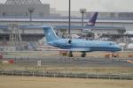リンリンさんが、成田国際空港で撮影したマースク航空 UK G-IV-X Gulfstream G450の航空フォト(写真)