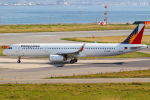 KAMIYA JASDFさんが、関西国際空港で撮影したフィリピン航空 A321-231の航空フォト(写真)