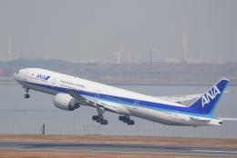 Dreamer-K'さんが、羽田空港で撮影した全日空 777-381/ERの航空フォト(飛行機 写真・画像)