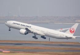 Dreamer-K'さんが、羽田空港で撮影した日本航空 777-346/ERの航空フォト(飛行機 写真・画像)