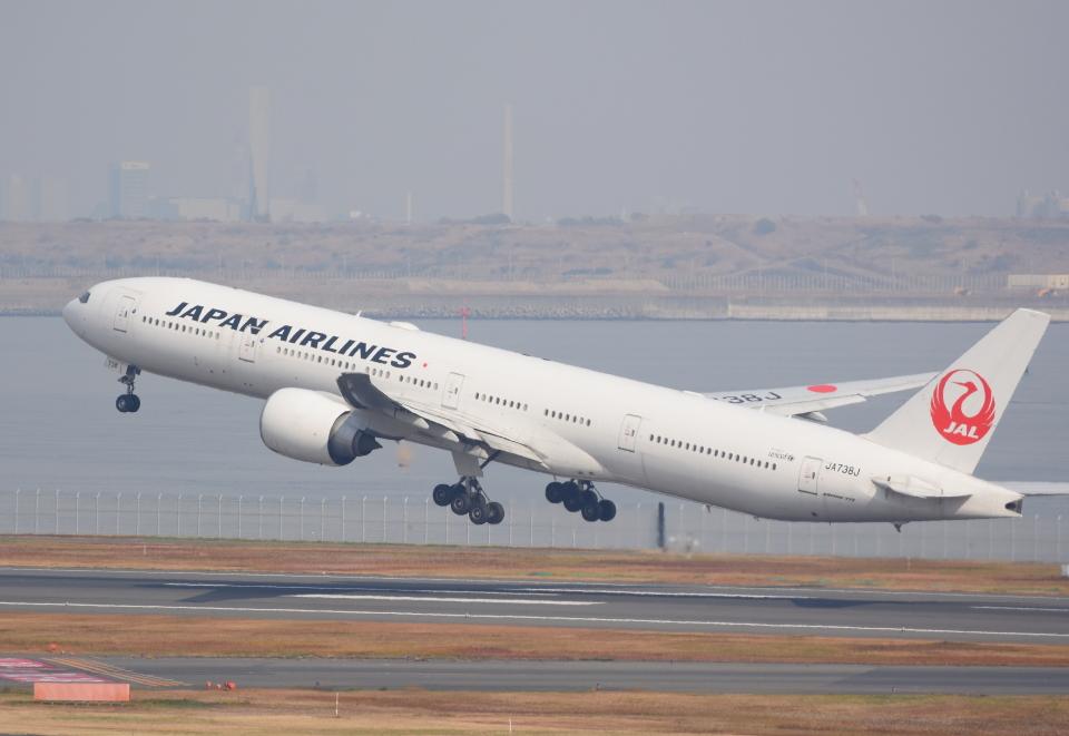 Dreamer-K'さんの日本航空 Boeing 777-300 (JA738J) 航空フォト