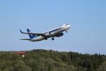 おっつんさんが、能登空港で撮影した全日空 737-881の航空フォト(写真)