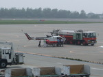 アイスコーヒーさんが、函館空港で撮影した読売新聞 Bo 105Sの航空フォト(写真)