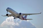 ちゃぽんさんが、関西国際空港で撮影したタイ国際航空 A350-941XWBの航空フォト(写真)