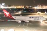 mktさんが、羽田空港で撮影したカンタス航空 747-438/ERの航空フォト(写真)