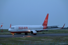 VEZEL 1500Xさんが、静岡空港で撮影したチェジュ航空 737-8ALの航空フォト(飛行機 写真・画像)