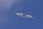 yabyanさんが、名古屋飛行場で撮影したボーイング 747-4J6(LCF) Dreamlifterの航空フォト(写真)