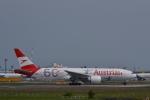 厦龙さんが、成田国際空港で撮影したオーストリア航空 777-2Q8/ERの航空フォト(写真)