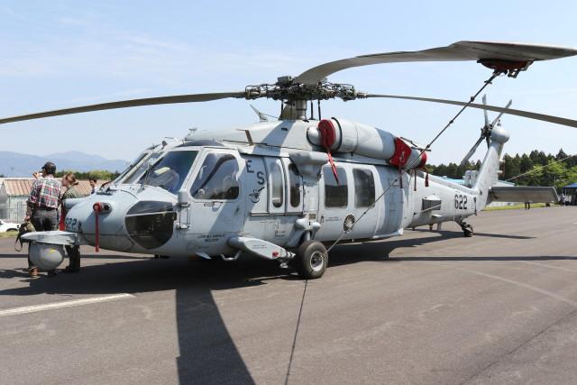 utarou on NRTさんが、キャンプ富士で撮影したアメリカ海軍 MH-60S Knighthawk (S-70A)の航空フォト(飛行機 写真・画像)
