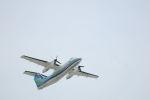 どんちんさんが、福岡空港で撮影したオリエンタルエアブリッジ DHC-8-201Q Dash 8の航空フォト(写真)