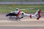 yabyanさんが、名古屋飛行場で撮影した中日本航空 EC135P2+の航空フォト(飛行機 写真・画像)