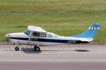 yabyanさんが、名古屋飛行場で撮影した第一航空 TU206F Turbo Stationairの航空フォト(飛行機 写真・画像)