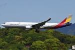 あしゅーさんが、福岡空港で撮影したアシアナ航空 A330-323Xの航空フォト(飛行機 写真・画像)