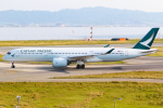 KAMIYA JASDFさんが、関西国際空港で撮影したキャセイパシフィック航空 A350-941XWBの航空フォト(写真)