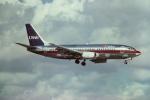 tassさんが、マイアミ国際空港で撮影したUSエア 737-3B7の航空フォト(写真)