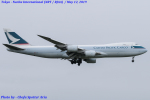 Chofu Spotter Ariaさんが、成田国際空港で撮影したキャセイパシフィック航空 747-867F/SCDの航空フォト(飛行機 写真・画像)