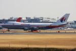 Hiro-hiroさんが、成田国際空港で撮影したマレーシア航空 747-4H6F/SCDの航空フォト(写真)