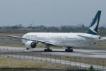 かずまっくすさんが、ニノイ・アキノ国際空港で撮影したキャセイパシフィック航空 777-367の航空フォト(写真)