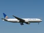 トタさんが、成田国際空港で撮影したユナイテッド航空 777-222/ERの航空フォト(飛行機 写真・画像)