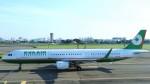 westtowerさんが、高雄国際空港で撮影したエバー航空 A321-211の航空フォト(写真)