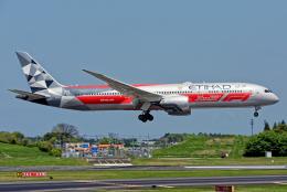 成田国際空港 - Narita International Airport [NRT/RJAA]で撮影されたエティハド航空 - Etihad Airways [EY/ETD]の航空機写真