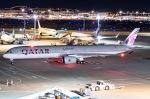 ishikenさんが、羽田空港で撮影したカタール航空 A350-1041の航空フォト(写真)