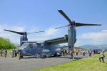ちゃぽんさんが、キャンプ富士で撮影したアメリカ空軍 CV-22Bの航空フォト(写真)