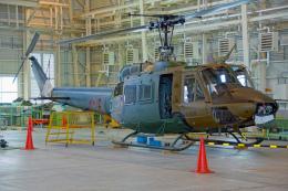 ちゃぽんさんが、キャンプ富士で撮影した陸上自衛隊 UH-1Jの航空フォト(飛行機 写真・画像)