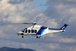 TAKAHIDEさんが、名古屋飛行場で撮影したオールニッポンヘリコプター AW139の航空フォト(写真)